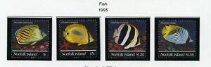 NORFOLK ISLAND   MNH    577-80   Fish   XD732