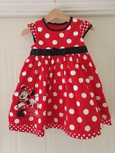 Beautifil baby Girls Disney Minnie Mouse Dress Size 9-12 Months