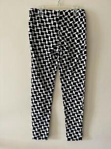 Forever 21 Geometrical Print Leggings Size L