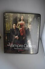 VAMPIRE DIARIES SEASON 2 DELUXE BINDER & FULL BASE SET EXTREMELY HARD TO FIND!