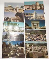 Vintage Jerusalem Postcard Lot Israel Holy Land