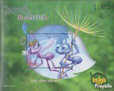 Palau-îles Bloc 73 (complète edition) neuf avec gomme originale 1998 walt disney
