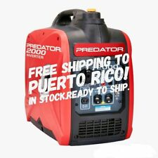 💡🔌 New Predator 2000 Watt Generator Inverter - Free Ship To Puerto Rico 💡🔌
