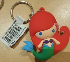 PORTE CLES / Key Ring Disneyland Paris PC PETITE SIRENE / Little Mermaid SPVC
