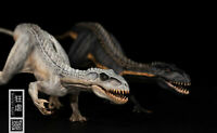 "Nanmu 1/35 Indoraptor Figure Raptor Statue Dinosaur 10.2"" Model Collector Gift"