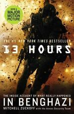13 Hours Book Account of What Happened in Benghazi by Mitchell Zuckoff Paperback
