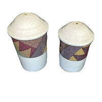 Studio Nova Palm Desert Salt & Pepper Shakers Y2216 By Nancy Green Thailand
