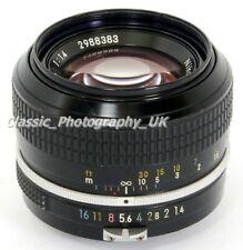 Classic FAST NIKKOR 50mm F1.4 Converted to Nikon Ai FILM & Digital SLR fit Lens
