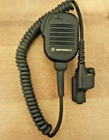 Motorola NMN6193B Shoulder Lapel Speaker Mic WITH CLIP Microphone XTS HT1000