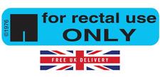 For Rectal Use Only - Stickers (500) - Fast despatch - Reddit - Prank - Joke