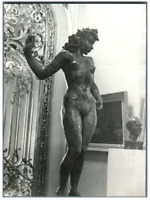 Paris, Galerie Charpentier, Nu de Hermann Haller  Vintage silver print.Hermann