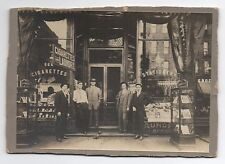 1900 Photo Cigarette & Pipes & Stationary Store