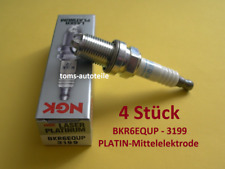 4 NGK Zündkerzen PLATIN BKR6EQUP 3199 BMW 3 E46 316 318 Z3 E36 MINI R50 R52 R53