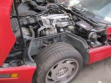 92 93 CORVETTE ENGINE 8-350 5.7L VIN P WITH auto Transmission ECU comp as CORE