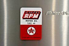 Caltex RPM Logo Petrol Oil Man Cave Fridge Magnet