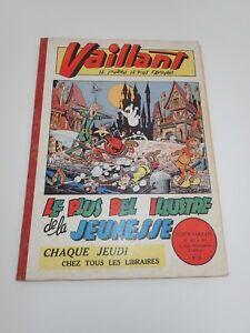 VAILLANT - Reliure numéro 24 (du 451 au 463)  JANV 1954 ALBUM VINTAGE