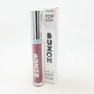 Buxom Top Coat Full-On Plumping Lip Polish  0.14oz/4ml New With Box