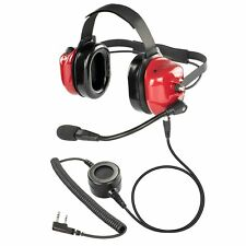 Concert Security Airport Personnel Earmuff w PTT for Kenwood TH-K20A TK-3402U
