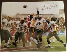 Carson Wentz Autographed 16x20 Photo North Dakota State Bisons Signed NDSU Auto