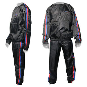 WARX Heavy Duty Fitness/ Exercise / Weight Loss / Gym /Sauna Sweat Suit ANTI RIP