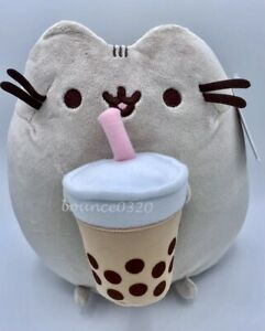 Pusheen Cat Boba Tea Plush Exclusive Sold Out NWT