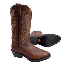 Tony Lama Americana Men's 6 D Boots Brown Kodiak Cowboy 7913 Handcrafted USA