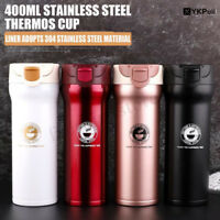 400ML Stainless Steel Thermos Cup Coffee Tea Water Vacuum Bottle Travel Mug