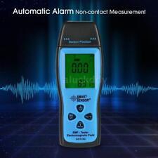 LCD EMF & Temperature Meter Audio Alarm Ghost Hunting Paranormal Equipment UK
