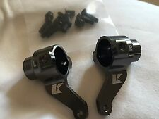 KYOSHO FAZER KOBRA, RAGE, DIRT HOG, LEFT & RIGHT FRONT CNC ALLOY KNUCKLES FAW052