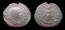 Empire romain - Elagabal - Denier (219) - PROVID DEORVM - Rome