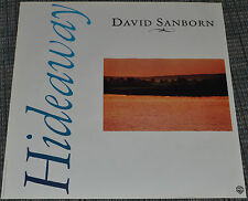 David Sanborn 1980 Original Warner Bros. Records Album Promo Poster! Hideaway