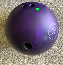 Hammer Purple Pearl Urethane bowling ball ~ 15 Lbs. used 1 game