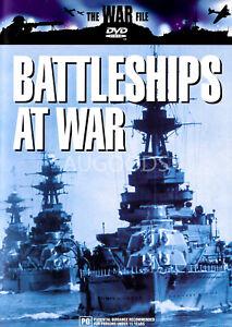 Battleships at War -Rare DVD Aus Stock -War -Excellent