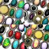 20pcs Big Mix Natural Stone Fashion Rings Wholesale Jewelry Lots Free Shipping