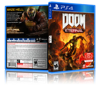 Doom: Eternal - Replacement PS4 Cover and Case. NO GAME!!