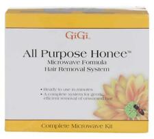 GiGi All Purpose Honee Microwave Formula Hair Removal System Kit Brand New