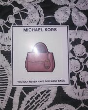 Michael Kors- You can never have too many handbags- Leather Bag Sticker