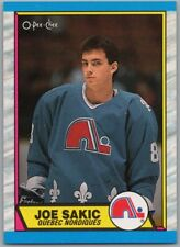 1989-90 O-PEE-CHEE JOE SAKIC Rookie RC Card # 113 Rare Quebec Nordiques Mint BV