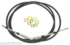 """Buyers Products 5203BBU144 144""""   Universal Control Cable,PTO,Valve Dump Truck"""