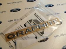 Ford Mondeo MK3 New Genuine Ford Graphite badge