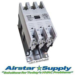 120 Amp Contactor C25HNE3120T Eaton / Cutler Hammer • 3 Pole • 24 V Volt Coil