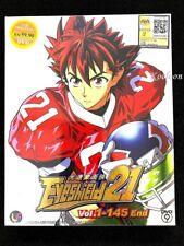 DVD Anime Eyeshield 21 Complete Series (1-145 End) English Subtitle All Region