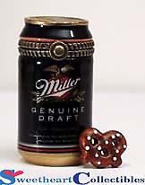 Miller Genuine Draft Beer Phb Hinged Box
