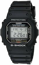 Casio G Shock Dw-5600e Black Digital Multifunction Mens Watch