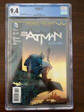 Batman #31 CGC 9.4 (DC 2014)  Zero Year Final Act.  Key!