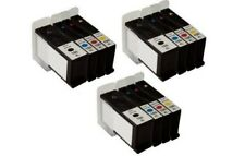12 Black Color Inkjet Cartridges for the Lexmark 100XL All-In-One S405 S505 S605