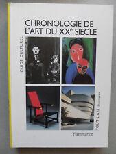 Michel DRAGUET, CHRONOLOGIE DE L'ART DU XXe SIÈCLE, art moderne et contemporain