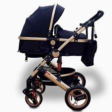 Trally® Kombi Kinderwagen 3in1 Komplettset Buggy Babywanne  Autositz Alu 800 NEU