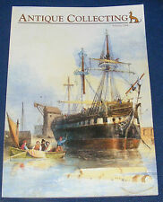 ANTIQUE COLLECTING FEBRUARY 1994 - TEXTILES/BIRCHALL/CIGARETTE CASES/T.M.RANDALL