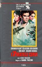 I sette fratelli Cervi (1968) VHS Ricordi Video GianMaria Volonté Lisa Gastoni